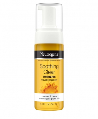 SOOTHING CLEAR TURMERIC MOUSSE CLEANSER