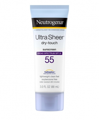 NEUTROGENA ULTRA SHEER DRY TOUCH SUNSCREEN SPF 55